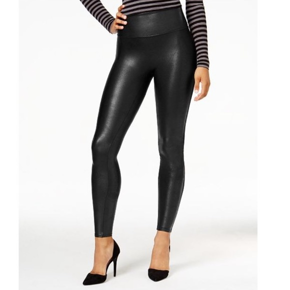 bd9a5942cdc0f SPANX Petite Faux Leather Tummy Control Leggings. M_5bdb7d5f12cd4abd41957a73